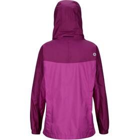 Marmot Girls PreCip Jacket Neon Berry/Grape